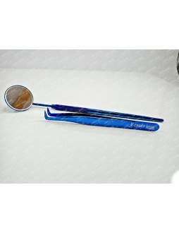 90 degree volume tweezer with lash mirror