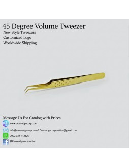 45 degree volume tweezer (8-9mm tip)