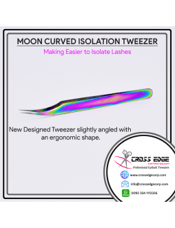 Moon Curve isolation tweezer