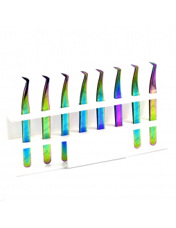 8 Mega volume tweezers set with free display stand (Discount price)