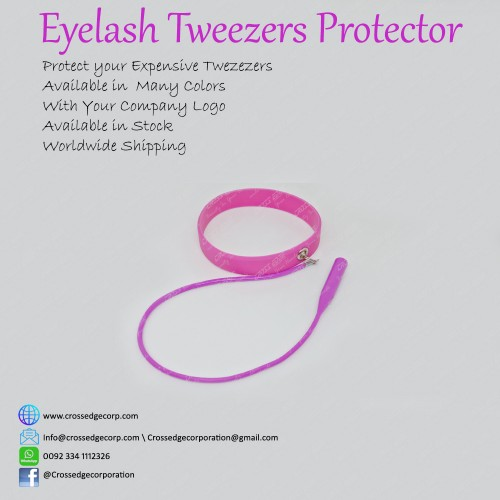 Tweezers protector (shocking pink)