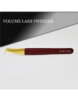 Volume Eyelash Extension Tweezers / High Quality Stainless Steel Tweezers / Eyelash Extension Tweezers Under Your Private Label