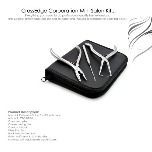 Hair Extensions Tools Kit