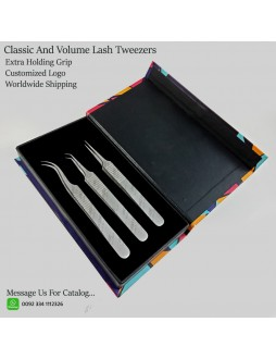 classic and volume tweezer set